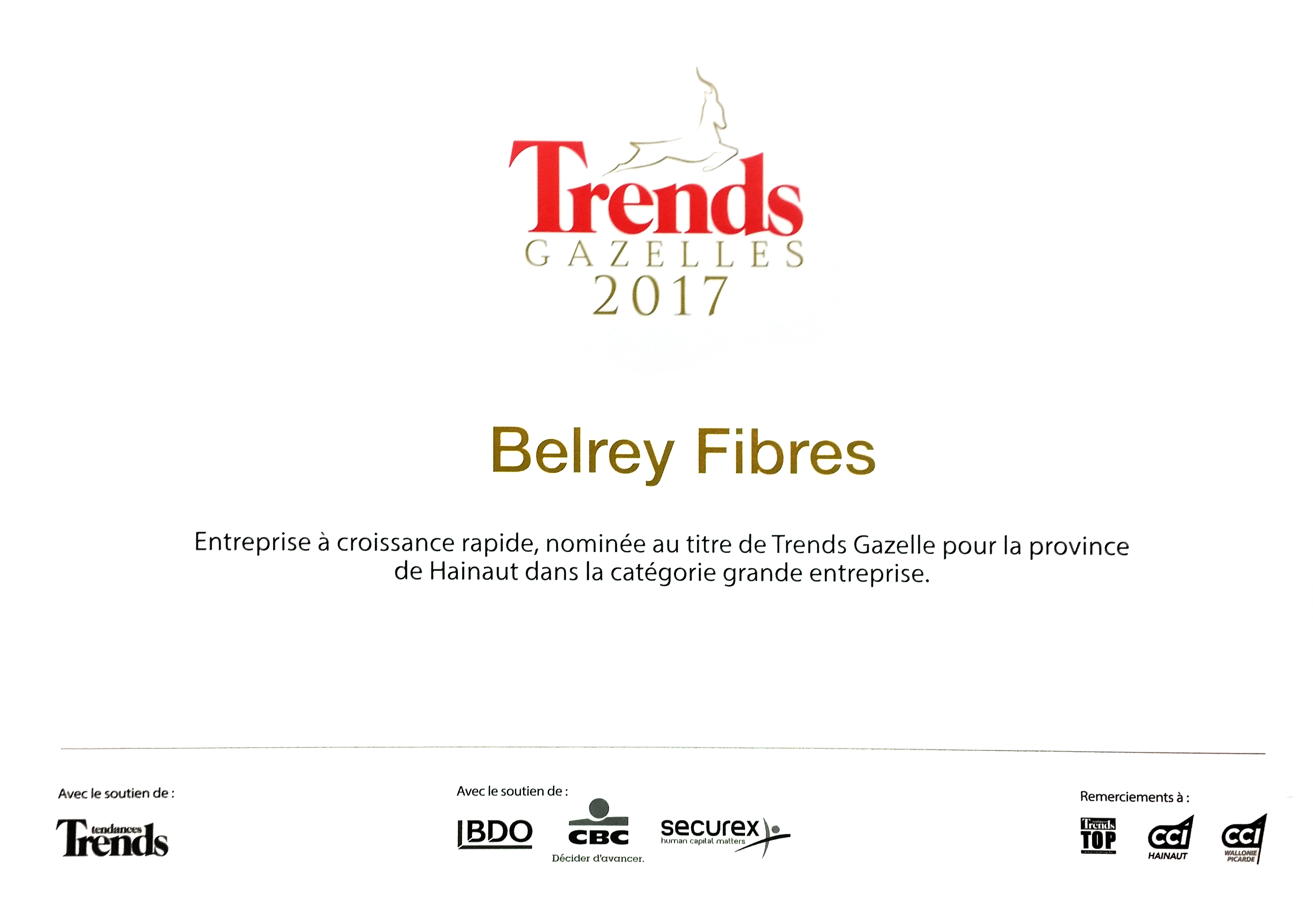 TRENDS GAZELLES 2017